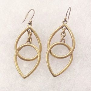 NWOT 🍀 Lucky Brand unique hoops